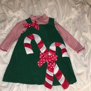 Other - Festive Holiday Toddler Dress